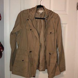 Forever 21 utility jacket in Beige